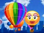 لعبة الفرق بين صور البالون المتحركة