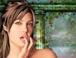 لعبة مكياج انجلينا جولي  2