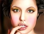 لعبة مكياج انجلينا جولي 5