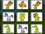 لعبة ذاكرة صور الحيوانات