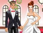 لعبة تلبيس العروسة و العريس الجديدة
