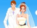 لعبة تلبيس العروسة و العريس الخيالية
