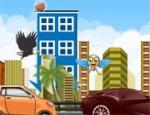 لعبة القفز فوق السيارات
