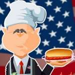 لعبة بوش الطباخ