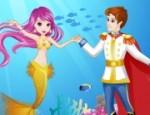 لعبة حورية البحر والامير