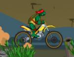 لعبة دراجة سلاحف النينجا النارية
