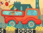 لعبة شاحنة البيتزا