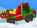 لعبة شاحنة بابا نويل