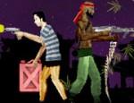 لعبة الزوجين ضد الزومبي