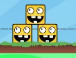 لعبة بناء المربعات