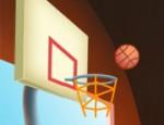 لعبة كرة سلة العيون