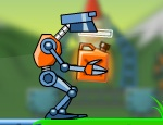 مغامرات الروبوت المضحك