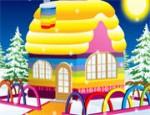 ديكور المنزل الشتوي